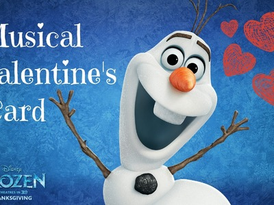 Valentine's Card Idea I Disney's Frozen ♡