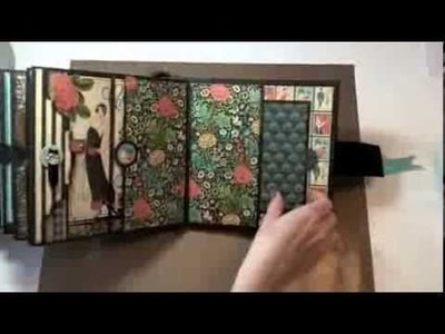 8x8 Graphic45 Couture Mini Album