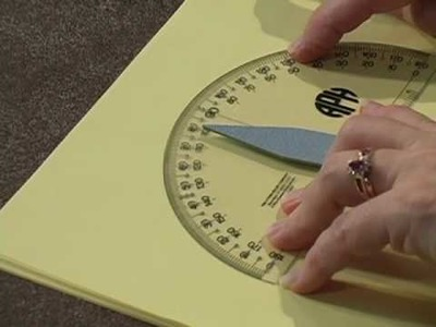 APH Braille Print Protractor:  Part 2, Features