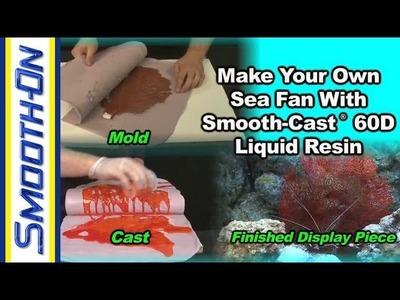 Aquarium Decoration Tutorial: How to Make Aquarium Safe Resin Sea Fan Coral