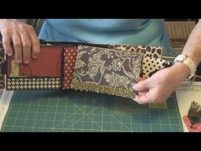 Beautiful People Paper Bag Album plus a tutorial