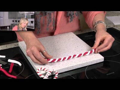 Christmas Candy Canes - Polymer Clay Tutorials