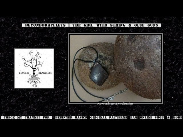 ☼ Coconut Shell Pendants ☼