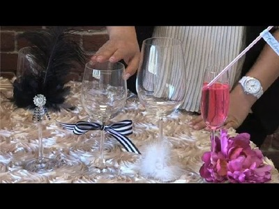 Decorating Party Glasses : Party Planning Ideas