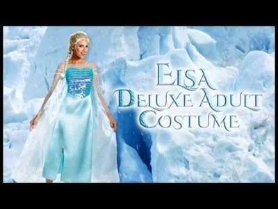 Frozen Costumes- Elsa Dress- Anna Costume | trendyhalloween.com