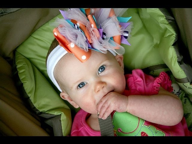 Funky Loop Hair bow tutorial *How to make a Funky Loopy hairbow