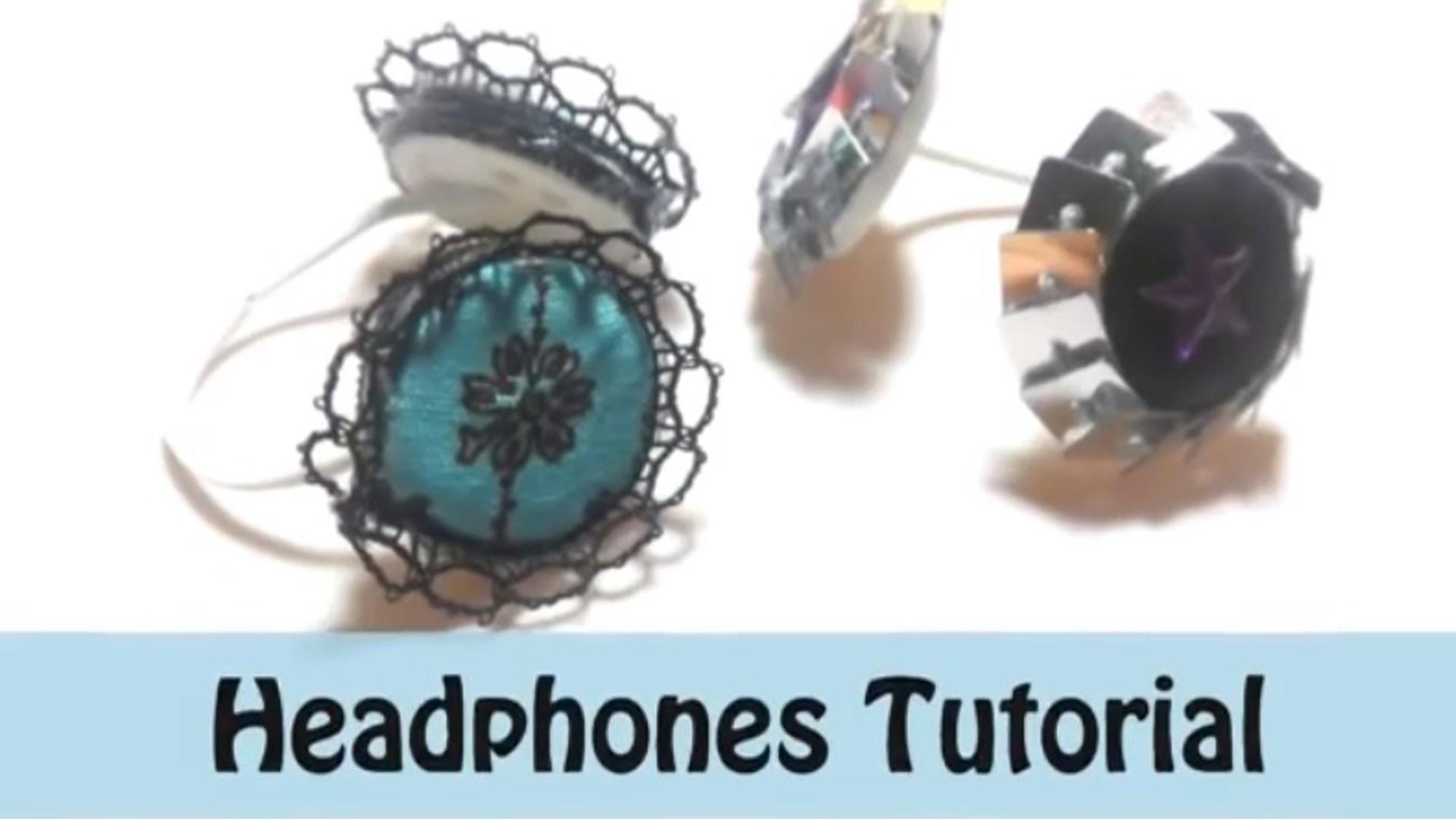 How To: Let's Rock! #1 Headphones (LPS)