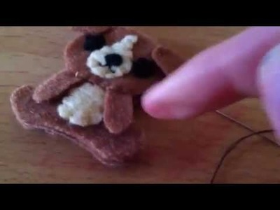 How to Make a Cute Dog.Puppy Plushie