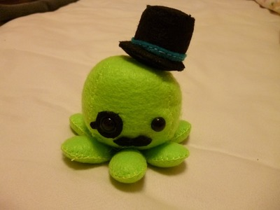 How to Make a Cute Octopus Plushie