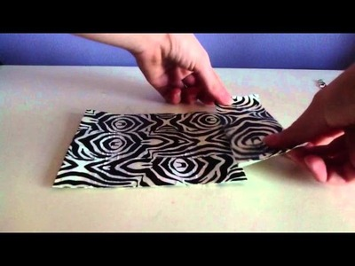 How To Make A Duct Tape iPod Case