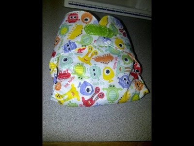 How to make a Flip Cloth Diaper Cover