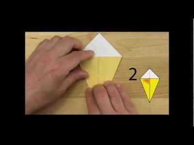 "How to make an origami kite and penguin from ""Origami 101"""