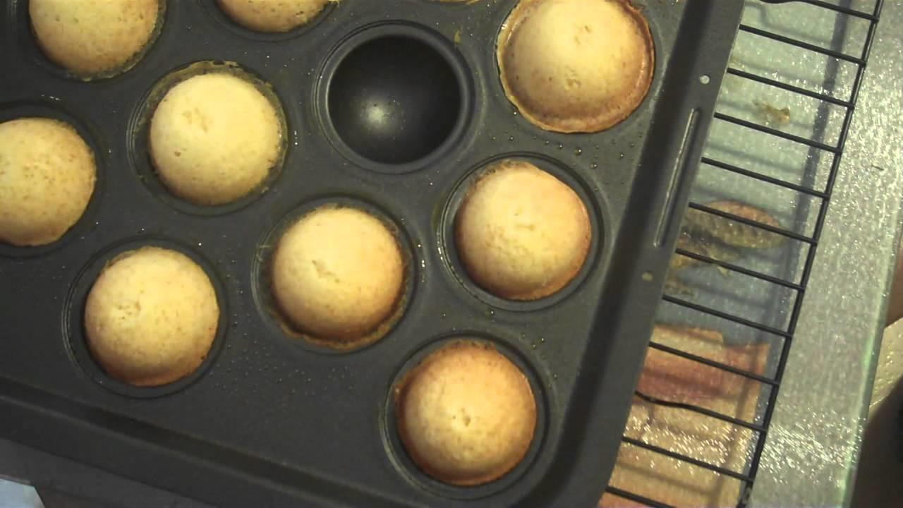 How to Make Cake Pops w. Cake Pop Mold HD