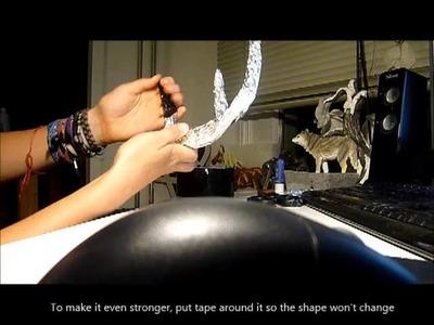How to make costume deer Antlers - Tutorial -