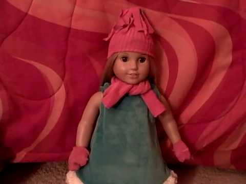 How to make winter sock stuff for your AG doll