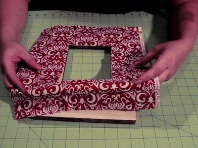 Learn How To Embellish A Picture Frame