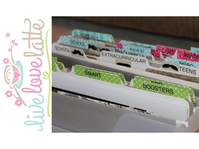 No More Fumbling: Action File Box @ Home! Paper Organization Part 1 of 4 {how to organize}