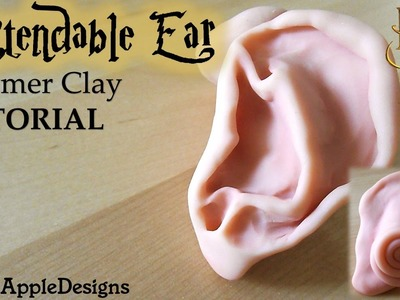 Polymer Clay Harry Potter's Extendable Ear TUTORIAL | Maive Ferrando