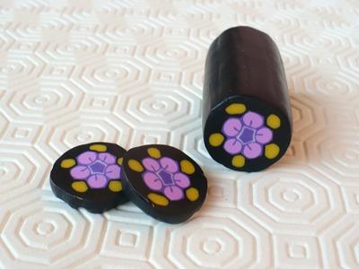 Polymer clay Millefiori cane: Geisha - ENG Series