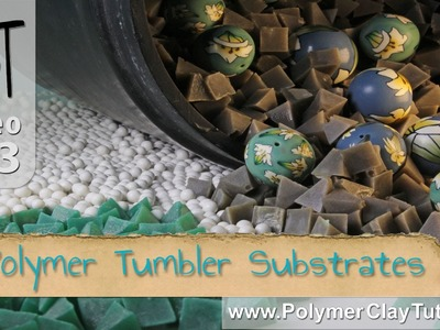 Polymer Clay Rock Tumblers - Plastic Polishing Substrate