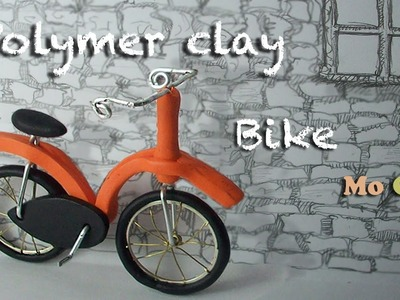 Polymer clay tutorial. Bike ride with Sandrartes (collaboration project)