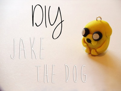 Adventure Time Jake Charm Tutorial [Polymer Clay ^_^]