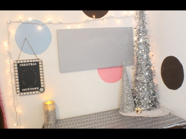 Decorating My Filming Space for CHRISTMAS! | Makeup By Kimm