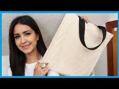 DIY: How to Reversible Tote Bag DamaV425