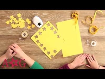 DIY Shooting Star Garland Craft   American Girl