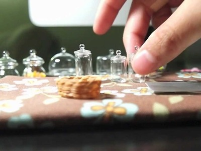 Dollhouse miniatures for polymer clay and air dry clay