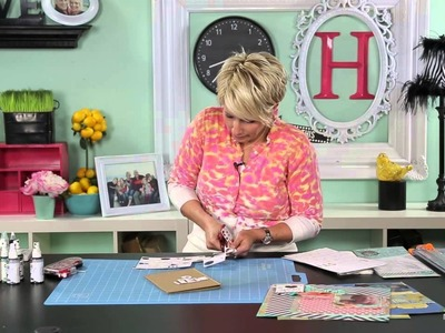 Heidi Swapp- Create to Remember:  Quick Tip:  Maximize Your Chipboard
