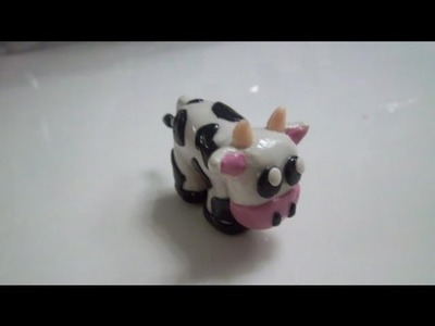 How to make a Cow out of clay