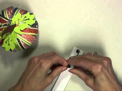 How To Make A Paper Pumpkin Using Card Stock