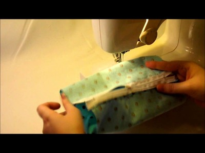 How To Make A Zipper Cosmetic Makeup Bag Sewing Tutorial
