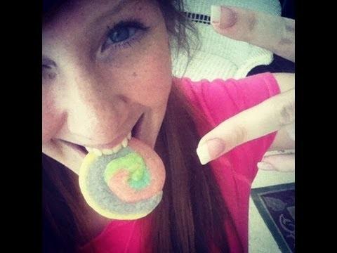 How to make Unicorn Poop Cookies (Pinwheel sugar cookies)
