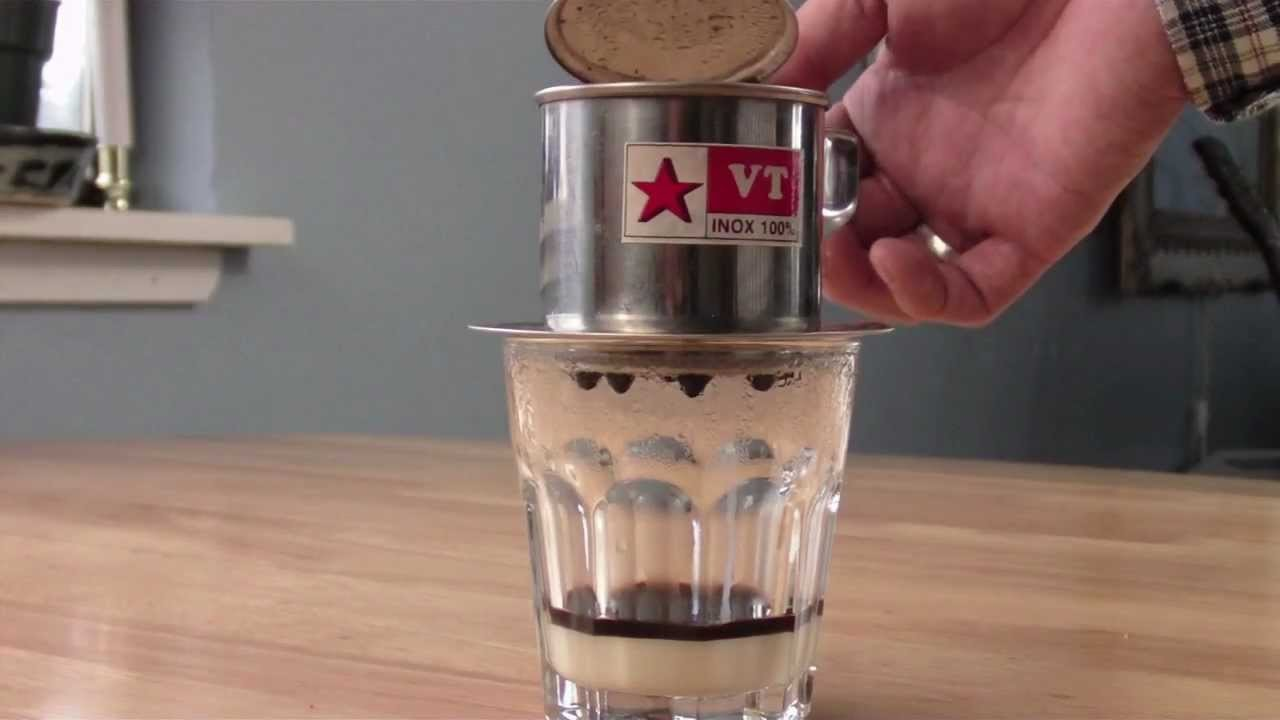 How to Make Vietnamese Coffee (Càfê Sữa Đá)
