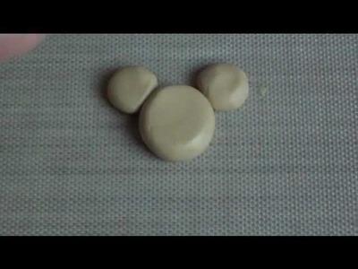 Kawaii Polymer Clay Minnie and Hello Kitty Waffle Tutorial