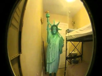 My fabulous Statue of Liberty costume