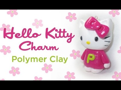 Polymer Clay Hello Kitty Charm