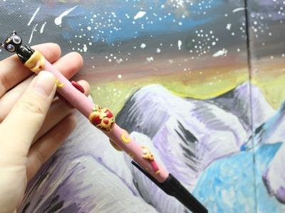 Polymer Clay Sailor Moon Pen Tutorial