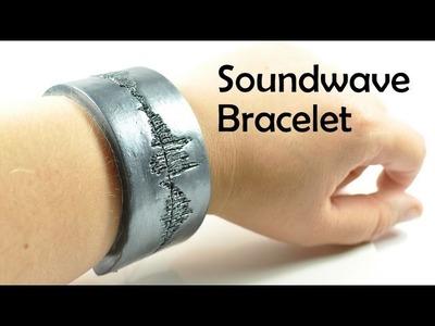 Soundwave bracelet - polymer clay TUTORIAL