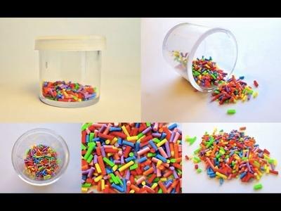 SPRINKLES - Polymer Clay Tutorial