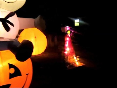 Time for  Halloween Decorations: Inspiration and Ideas day.night Outdoor Decor