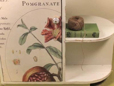 Transform A Cupboard with Decoupage (HD)