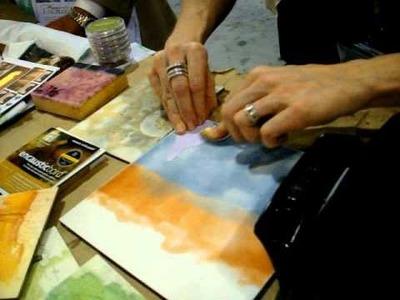TUTORIAL: Using TAP Transfer Artist Paper with encaustics