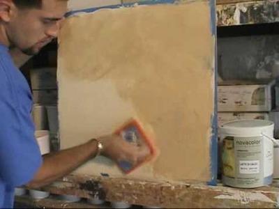 """Venetian Plaster  """"Lime Paint Color Wash"""""""