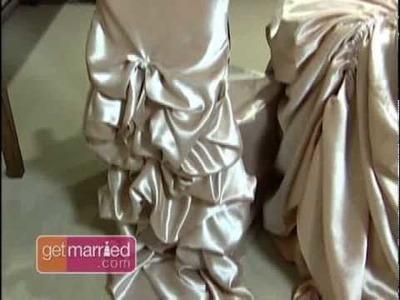 Wedding Reception Ideas: Seat Covers
