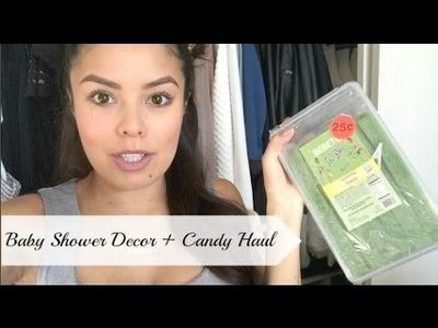 Baby Shower Decor + Candy Haul #BabyBumpSeries Ep.4