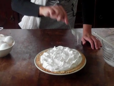 Baking 101:How to make Meringue with Hoosier Homemade