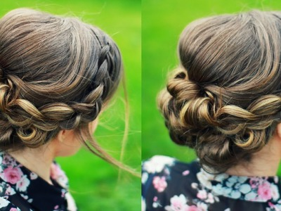 Bridal Updo Hair Tutorial | Wedding Hairstyles for short medium long hair